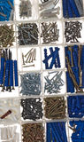 Screws and dowels Royalty Free Stock Photos