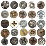 Screws head collection 2 Stock Photography