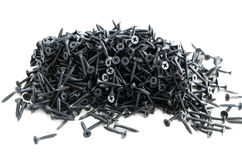 Screws heap Royalty Free Stock Photos