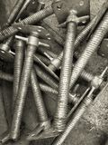 Screws for industry Stock Images