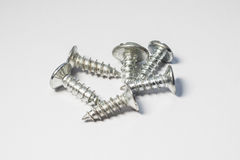 Screws for industry. And manufacturing Royalty Free Stock Image