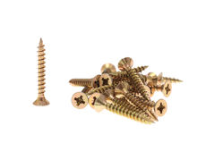 Screws isolated Royalty Free Stock Photo