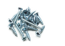 Screws isolated Stock Image