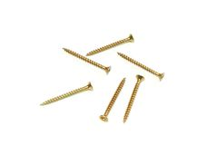 Screws isolated on white background Royalty Free Stock Image