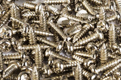 Screws located Stock Image