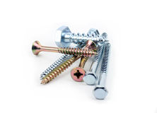 Screws Macro Royalty Free Stock Images