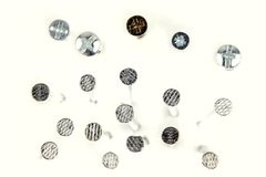 Screws and nails Royalty Free Stock Image