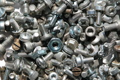 Screws and nuts 2 Stock Photo