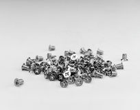 Screws. A is a type of fastener, sometimes similar to a bolt typically made of metal stock images