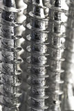 Screws upright macro Royalty Free Stock Image