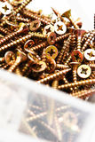 Screws for Wood Royalty Free Stock Images