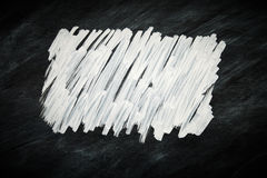 Scribble мела на классн классном Стоковые Фото