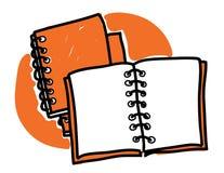 Scribble дневников Стоковые Фотографии RF