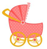 Scribble baby carriage Royalty Free Stock Photo