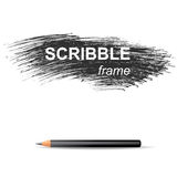 Scribble background Royalty Free Stock Photography