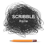 Scribble background Stock Photography