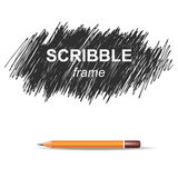 Scribble background Stock Photos
