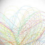 Scribble background Royalty Free Stock Images