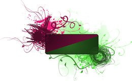 Scribble banner Stock Image