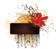 Scribble Banner Royalty Free Stock Image