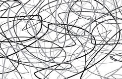 Scribble black and white  Background Royalty Free Stock Photos