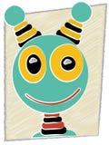 Scribble Cartoon Robot Head Royalty Free Stock Photos