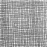 Scribble Cell Pattern Hand Drawn in Pencil Royalty Free Stock Photos