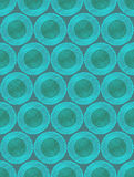 Scribble circles abstract pattern Stock Images