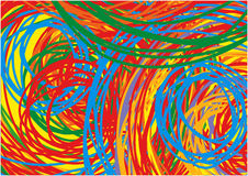 Scribble Colorful Background Royalty Free Stock Photography