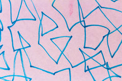 Scribble Drawing Detail Royalty Free Stock Image