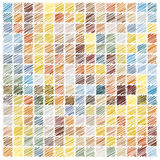 Scribble mosaic background Royalty Free Stock Photography