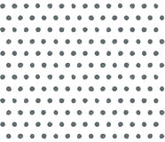 Scribble polka dot background. Royalty Free Stock Images