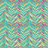 Scribble seamless pattern green Royalty Free Stock Photography