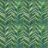 Scribble seamless pattern green Royalty Free Stock Images
