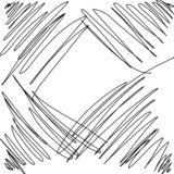 Scribble sketch abstract pencil drawing. Background vector illustration