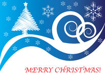 Scribble-tree Christmas Royalty Free Stock Photo