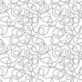 Scribble vector pattern Stock Photo