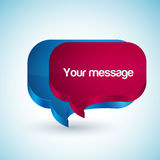 Scribble your message Royalty Free Stock Photo
