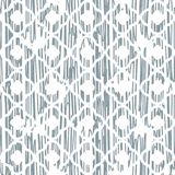 Scribbled texture oriental blue and white rough pattern. Stock Photos