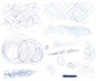 Scribbles 1 Стоковые Изображения RF