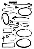 Scribbles 1 иллюстрация штока