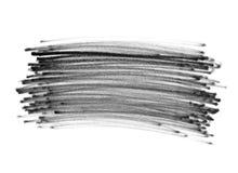 Scribbles doodle ручки войлока Стоковая Фотография