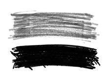 Scribbles doodle ручки войлока Стоковое фото RF