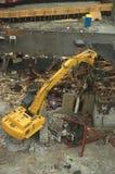 Scricchiolio di demolizione Immagini Stock