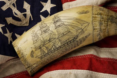 Scrimshaw Royalty Free Stock Photography