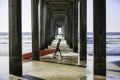 Scripps-Pier stockfoto