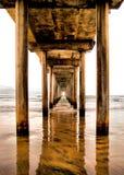 Scripps Pier. La Jolla California San Diego Royalty Free Stock Photography