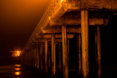 Scripps Pier - California Royalty Free Stock Photography