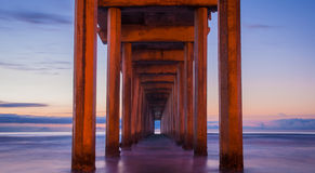 Scripps Pier - California Royalty Free Stock Images