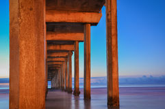 Scripps Pier - California Royalty Free Stock Photo